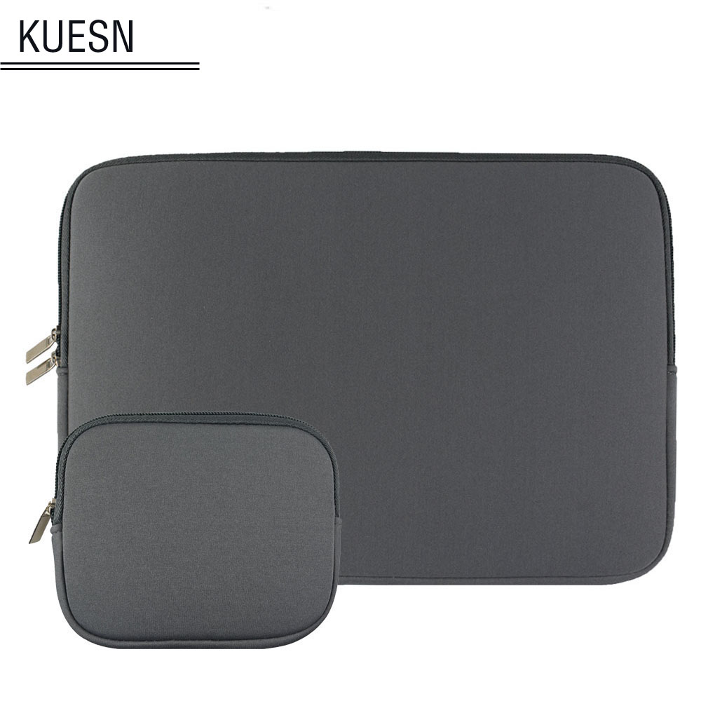 Universal tablet case laptop bag pocket for 11 12 13 <font><b>15</b></font>.6 inch notebook macbook lenovo acer dell <font><b>asus</b></font> HP ultrabook sleeve pouch image
