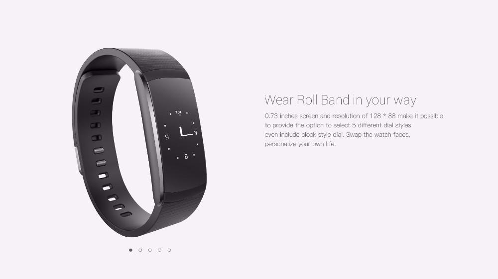 Original iWown i6Pro Smart Band PMOLED Display Heart Rate Monitor Smart WristBand Bracelet Waterproof Android Fitness Tracker 21