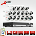 16CH AHD Security Cam System 1080N HDMI DVR Kit 720P 1800TVL IR Outdoor Camera Home CCTV Video Surveillance Kits Email Alert