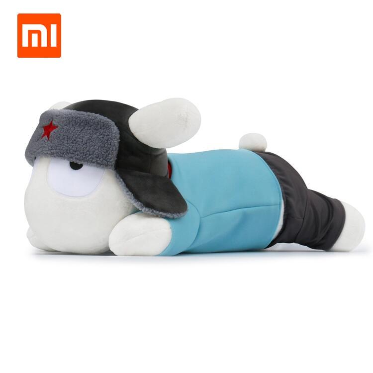 Original Xiaomi 60cm Soft Mitu Rabbit Pillow Version Lying Posture MiTu Rabbits Cotton Plush Dolls For