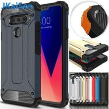 Shockproof Armor Phone Case For LG K4 K5 K7 K8 K10 K350 K371 Case For LG G5 G6 G7 V40 US375 Escape 3 Cell Phone Back Cover Case aksberry aksberry для lg k5