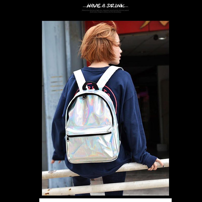 2018 new fashion School Backpack Waterproof Luminous Double Shoulder Bag for Students Teens Book Laptop Travel 88 Best S