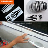 12 9800mm High Quality Pin Stripe Lines Tape Car Stickers Decals Decoration Strip Black Gold Blue