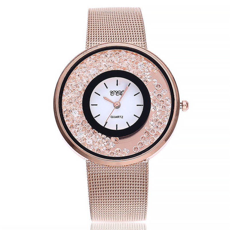Women watches bracelet watch ladies Quartz Stainless Steel Band Marble Strap Watch Analog WristWatch clock Montre femme 3M30#N