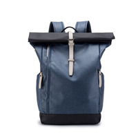 Bag for Men Genuine Leather Backpack Men's Bag Fold Microfiber Leather Daypack Rucksack