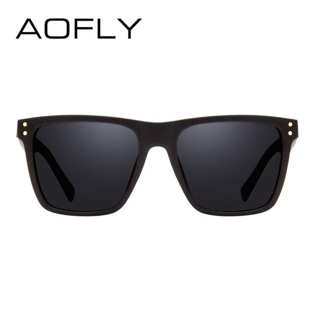 AOFLY Men Polarized Sunglasses Vintage Male Sunglasses Polaroid lenses Fashion Brand Designer Goggles Oculos Gafas De So AF8033 3