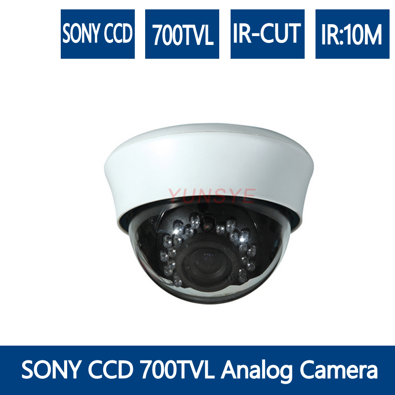 YUNSYE Analog Camera CCTV CameraS Analog Indoor Dome Camera SONY CCD 700TVL/CMOS 1000TVL/CMOS 1200TVL Surveillance Came DVR крышка roca meridian биде лакированная с механизмом мягкого закрывания 8062a2004
