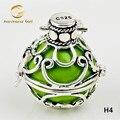 H4-22 гармония мяч ювелирные изделия 22 * 20 мм Mexican бола перезвон мяч кулон плавающий медальон для женщины ( клетка с мяч )