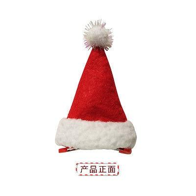033 39 De Réductionmignon Enfants Noël Chapeau Père Noël Casquette Fille Bonhomme De Neige Conception épingle à Cheveux Ornement De Fête De Noël
