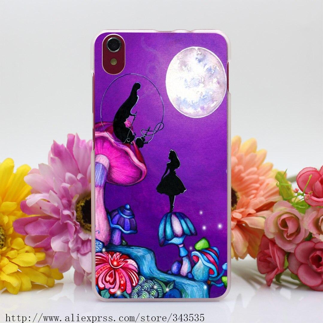 Alice in Wonderland purple mushroom iphone case