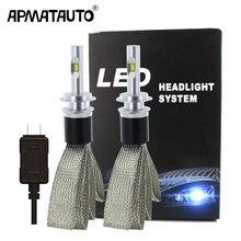 2 Pcs H4 LED H7 H11 H8 9006 HB4 HB3 H9 H16 (JP) 9012 Auto Lampadine Del Faro HA CONDOTTO LA Lampada con Flip Chip 9600LM Auto Fari Fendinebbia 6000 K 12 V