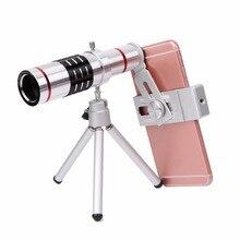 Buy 18X Telephoto Zoom Lens Set Optical Telescope Telelens Tripod Kit For Cellphone – L060 New hot
