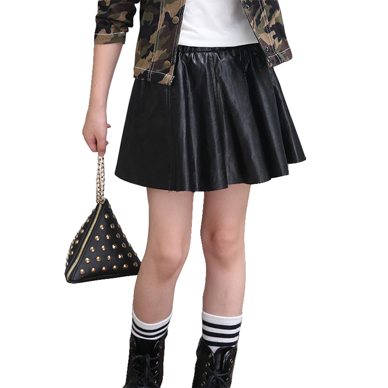 Popular Girls Leather Skirt-Buy Cheap Girls Leather Skirt lots ...