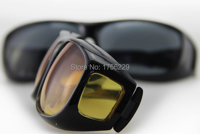 59307df178 2014 New HD Vision Wrap Around Sunglasses Fits Over Your Prescription  Glasses Black   Brown Available