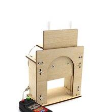 Деревянный стеклоподъемник двери № 1 DIY начальной и средней школы технология мелкого производства производитель образовательный комплект материал ручной работы пакет