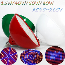 LED Bulbs For Plants 15W/40W/50W/80W Red+Blue  AC85~265V LED Grow Light Garden Lamps Grow LED Hydroponics Plants Grow Led Light