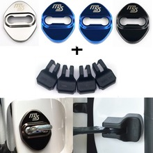 Car Styling Auto Door Lock Cover Car Sticker Case For Mazda 2 Mazda 3 MS For Mazda 6 CX 5 CX5 accessories Car Styling