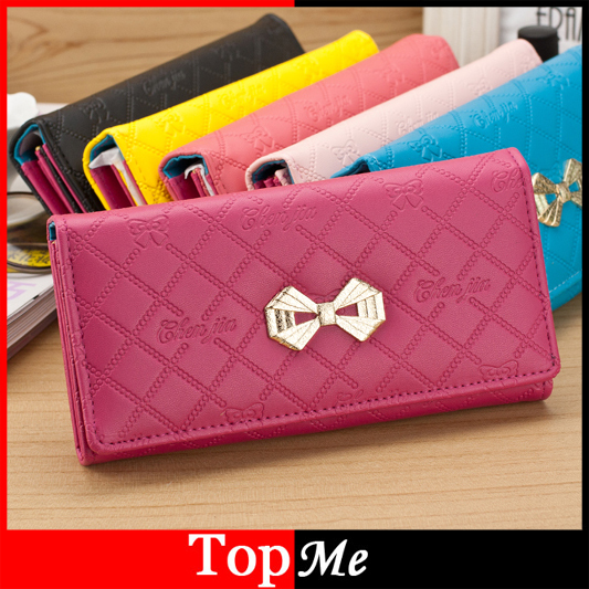 Fashion women wallet cards holders Soft PU leather lady purse hand bags money coin purse wholesale clutch wallets bags