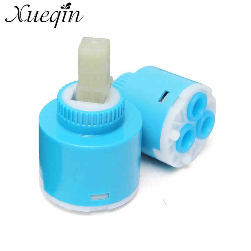 35mm/40mm 주방 욕실 물 믹서 탭 수도꼭지 세라믹 카트리지 밸브 교체 수도꼭지 카트리지
