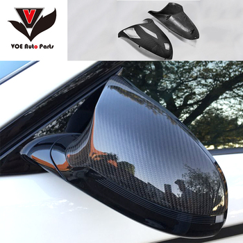F80 M3 F82 F83 M4 Carbon Fiber Replacement Side Mirror Covers for BMW F80 M3 F82 F83 M4 2014-2016 ONLY for Left-hand Driving image
