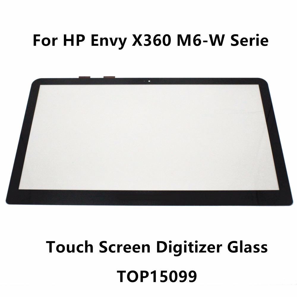 15.6'' For HP Envy X360 M6-W Serie M6-w102dx M6-w103dx M6-w104dx M6-w105dx Touch Panel Screen Digitizer Glass Sensor Replacement for hp x360 m6 top15099 v0 1 touch screen digitizer glass replacement