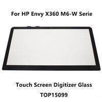 15.6'' For HP Envy X360 M6 W Serie M6 w102dx M6 w103dx M6 w104dx M6 w105dx Touch Panel Screen Digitizer Glass Sensor Replacement