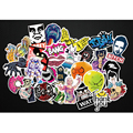 100 pcs Car stickers for Suitcase Wall Pencil Box Motorcycle Bike sticker Phone skateboard of mixed graffiti Car Styling sticker