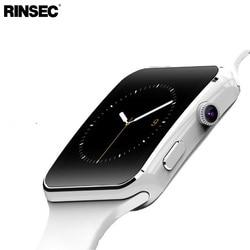 Baru Kedatangan X6 Smart Watch dengan Kamera Menyentuh Layar Mendukung SIM TF Card Bluetooth Smartwatch