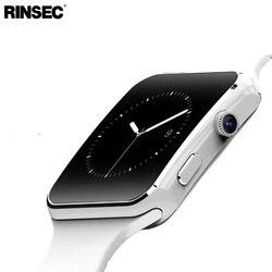 Chegada nova x6 relógio inteligente com tela de toque da câmera apoio sim tf cartão bluetooth smartwatch