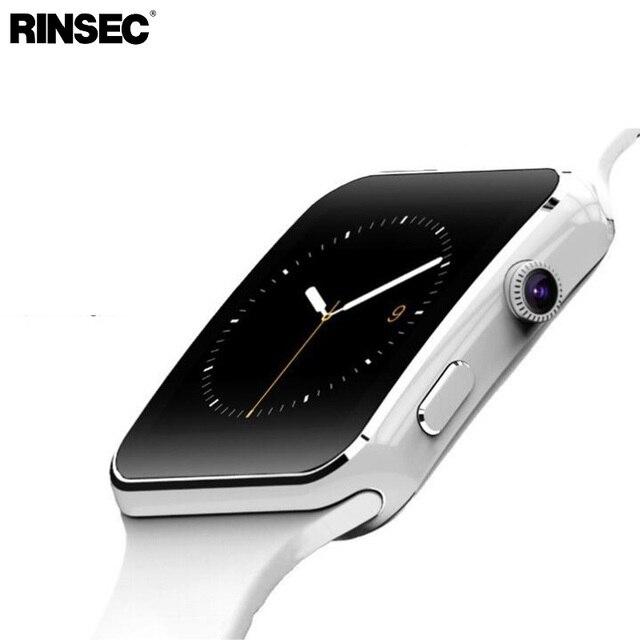 Nova Chegada X6 Relógio Inteligente com Câmera Touch Screen Suporte SIM Card TF Bluetooth Smartwatch