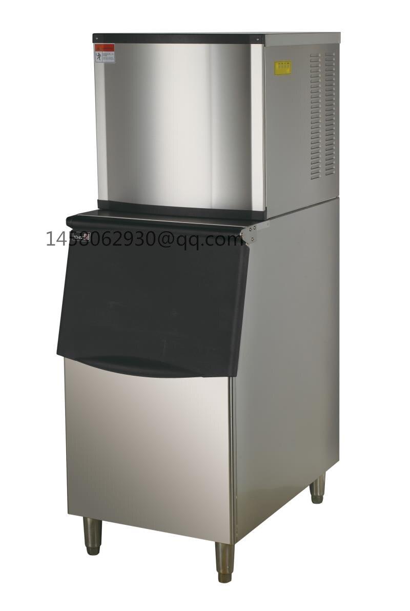CE approuvé En Acier Inoxydable 350 kg/24 h Cube Machine À Glaçons Top Qualité Cube de Glace Faisant La Machine