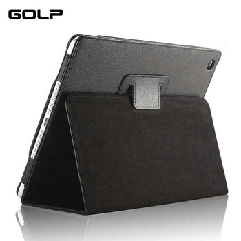 For ipad Mini Case, GOLP PU Leather Flip case for ipad Mini 1 2 3 Cover , Full Protection Holder Stand for ipad mini 2 case