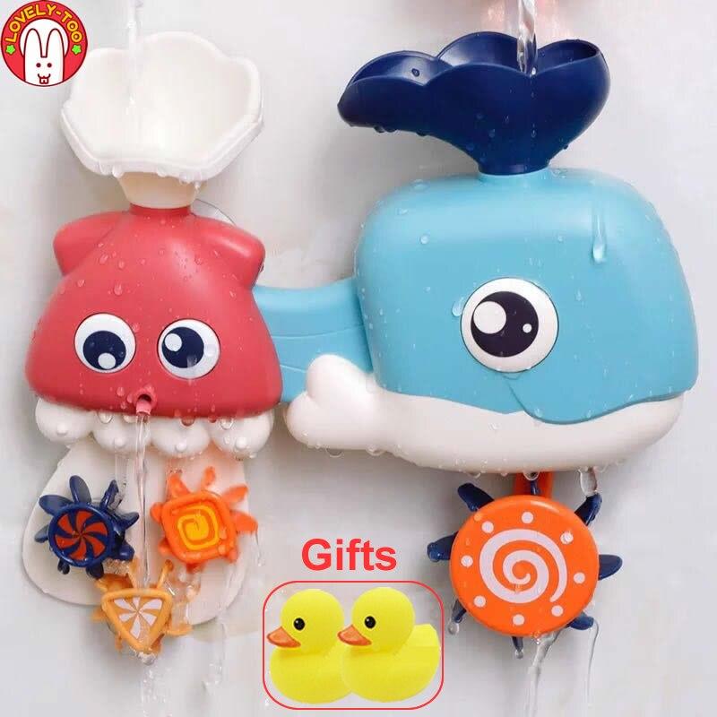 Baby Bath Toys In The Bathroom Kids Bathing Toy Bathtub Swimming Pool Shower Boy Water Toys For Children