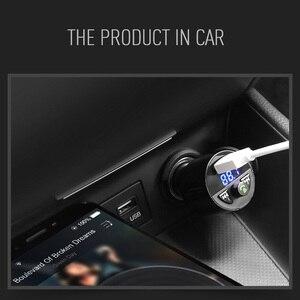 Image 5 - Ładowarka samochodowa Bluetooth odtwarzacz muzyczny MP3 obsługa karty TF U dysk MP3 WAV WMA FLAC APE CVC tłumienie szumów nadajnik Auto FM