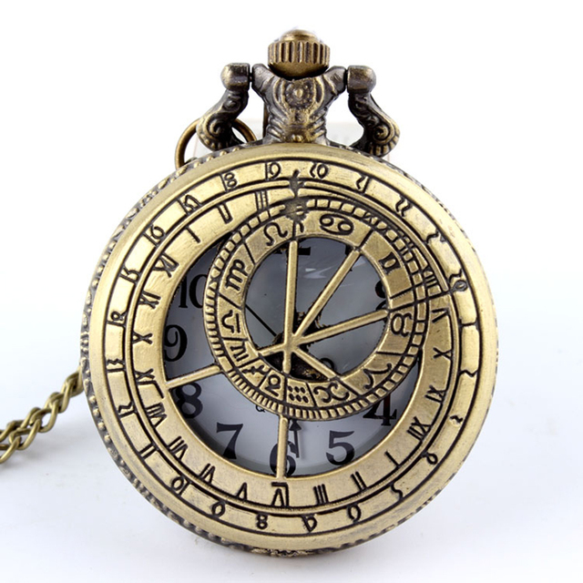 Dr. Who Pocket Watch Fob Chain Doctor Who UK The United Kindom Clock Hollow Engrave Mens Bronze Flip Case Watches for Women Men