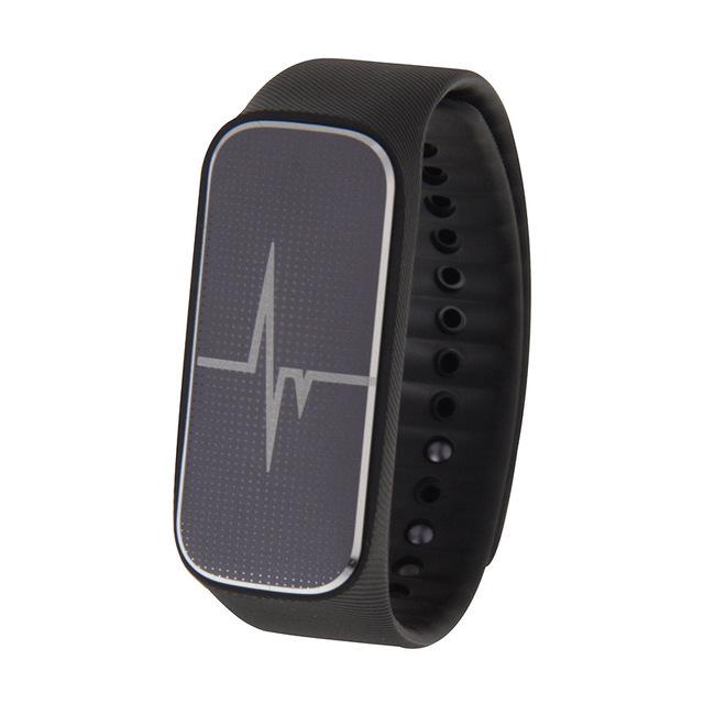 Bluetooth 4.0 Inteligente Pulseira Pedômetro Apoio L18/Humor/Sangue pressão/Monitor de Freqüência Cardíaca/Monitor de Sono/Estado de Fadiga