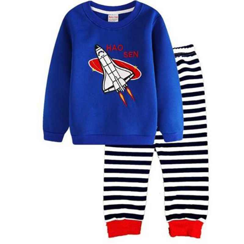 782fb5fc56 New Spring Children Pajamas Set Girls Casual Clothing Sets Boys Sleepwear  Suit Sets For Kids Cotton