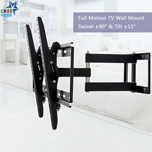 "Full Motion Orientable TV Support Articulé TV Support Mural Led Stand Titulaire pour ""-50""LCD LED Plasma 3D TV"
