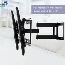 """Full Movement Tilt Swivel TV Bracket Articulating TV Wall Mount Led Stand Holder for 26""""-50""""LCD LED Plasma 3D TV"""