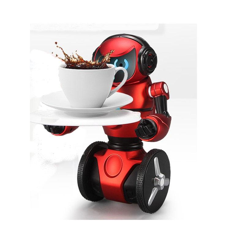купить Boys F1 Intelligent Gesture Recognition Infrared Induction Robot USB Charging Remote Control Toys Walking Dancing Robot RC Model недорого