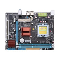 P45 Desktop Motherboard Mainboard Socket LGA 771/775 2 DDR3 8GB Dual Board Support L5420 Computer Gigabit Ethernet Mainboard