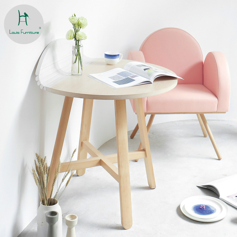 Small Round Table Folding Coffee