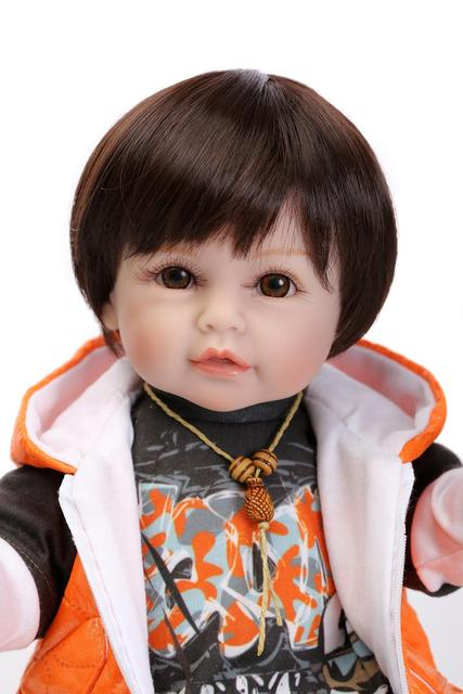 Soft Silicone Reborn Baby Doll Kids Playmate Gift Alive Soft Toys 2