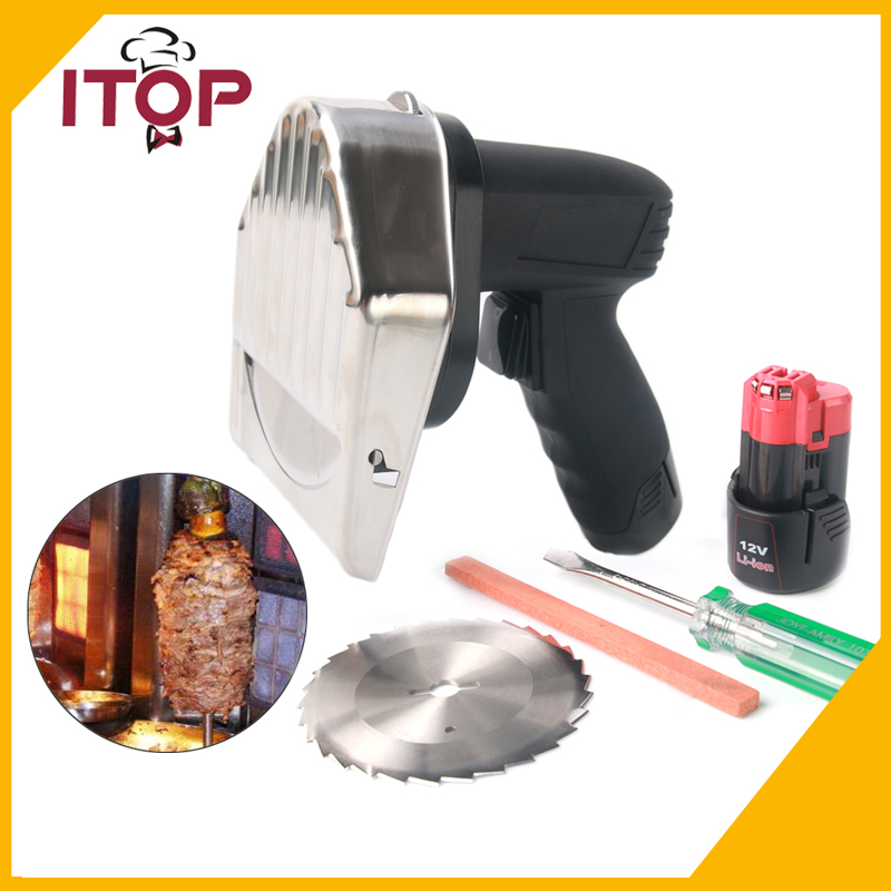 0012-04 110V 220V 240V  Electric Kebab Knife Doner Slicer Gyros Cutter Rechargeable Portable Kitchen Knife ширма sn 0012 доступные цвета цветочный рисунок 0012