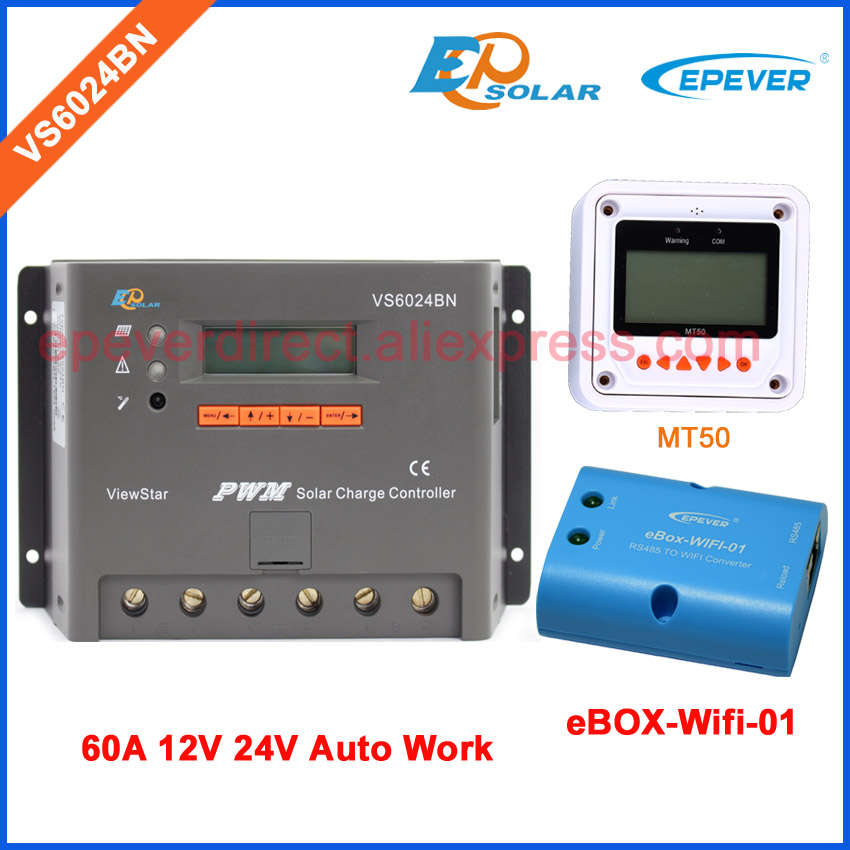 MT50 Remote Meter for user setting EPSolar PWM VS6024BN new controller built in lcd display Wifi BOX adapter 60A 60ampsMT50 Remote Meter for user setting EPSolar PWM VS6024BN new controller built in lcd display Wifi BOX adapter 60A 60amps