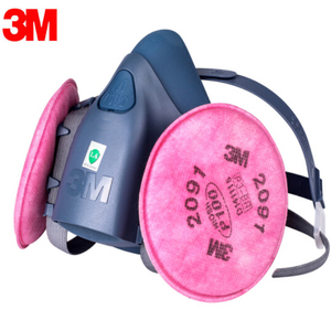Image 5 - 3M 7502 gas mask 17 in 1 spray paint chemical organic gas protection 6001/2091 filter for decoration dust protection