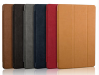Ultra Thin Stand Design Leather Case For IPad 6 Colorful Flip Smart Cover Smartcover For IPad