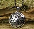 Thai silver jewelry vintage pendant flower shape fashion pendant 925 sterling silver pendant personalized female silver jewelry