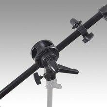 Support de Support de tête pivotante pour Kit de Support de bras de réflecteur de flèche de Studio Photo