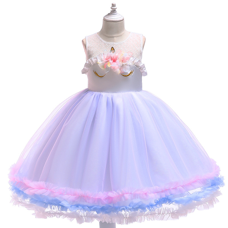 New Kids Pageant Evening Gowns   Flower     Girl     Dresses   For Weddings First Communion   Dresses   tutu   dress   Christmas gown